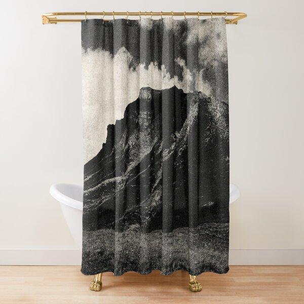 NOIR / Darkness Falls Shower Curtain