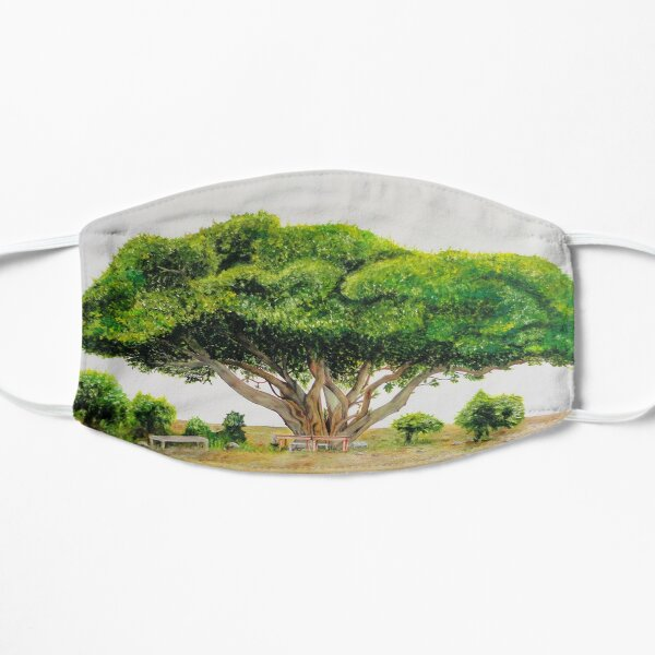 Lebensbaum Flache Maske