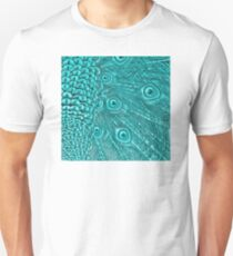 Light Blue Peacock Twilight T-Shirt