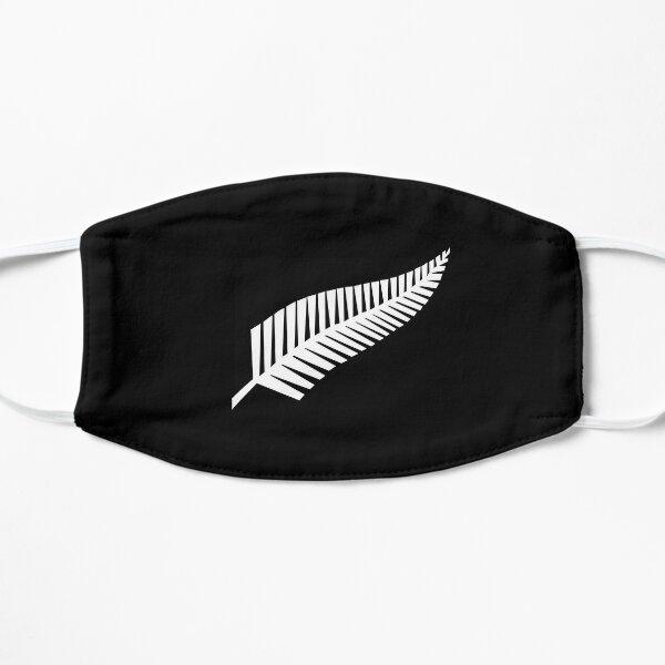 New Zealand silver fern face mask Flat Mask