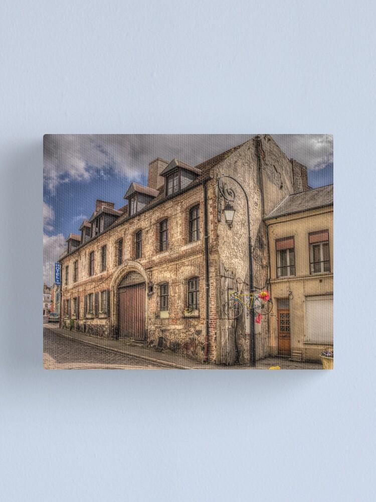 Alternate view of Hotel De Paris Canvas Print