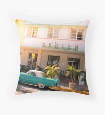 Miami Oldshool Throw Pillow