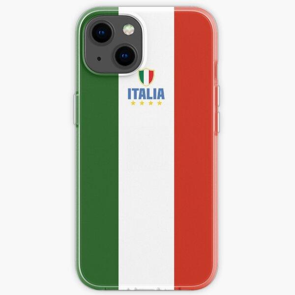 Italia - Italian tricolor  iPhone Soft Case