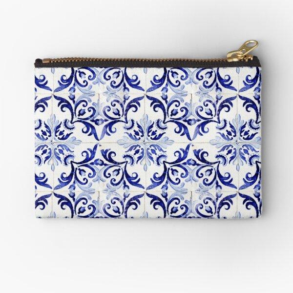 tiles pattern VI - Azulejos, Portuguese tiles Zipper Pouch