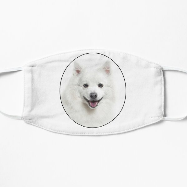 American Eskimo Dog Flat Mask
