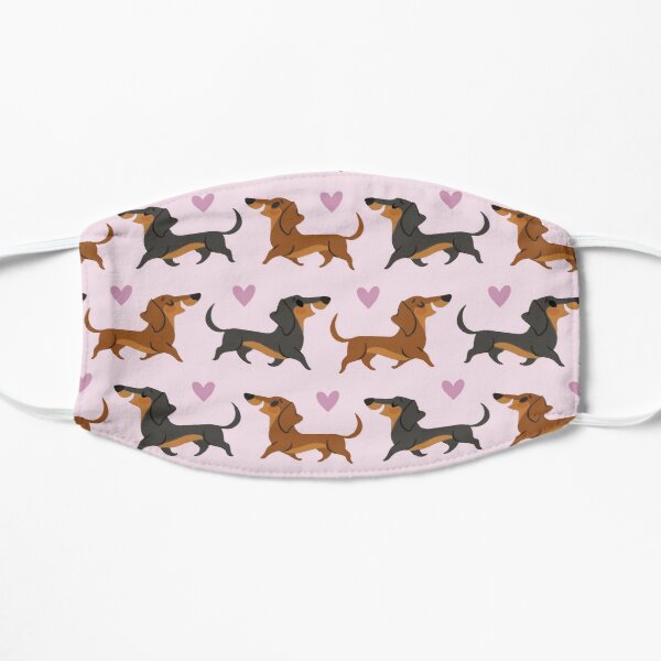 Dachshund Face Masks Redbubble