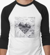 Wild At Heart Men's Baseball ¾ T-Shirt