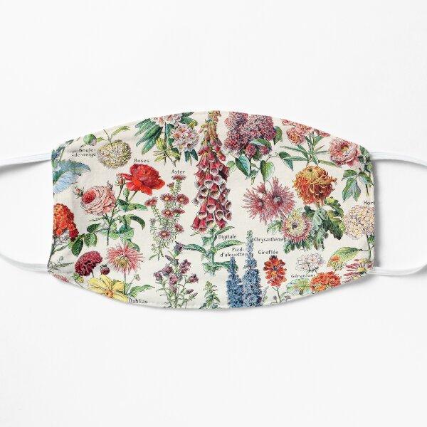 Adolphe Millot - Fleurs pour tous - French vintage poster Flat Mask