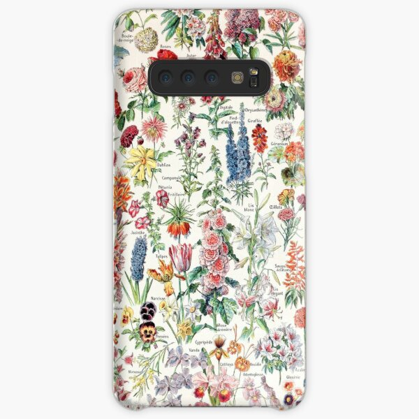 Adolphe Millot - Fleurs pour tous - French vintage poster Samsung Galaxy Snap Case