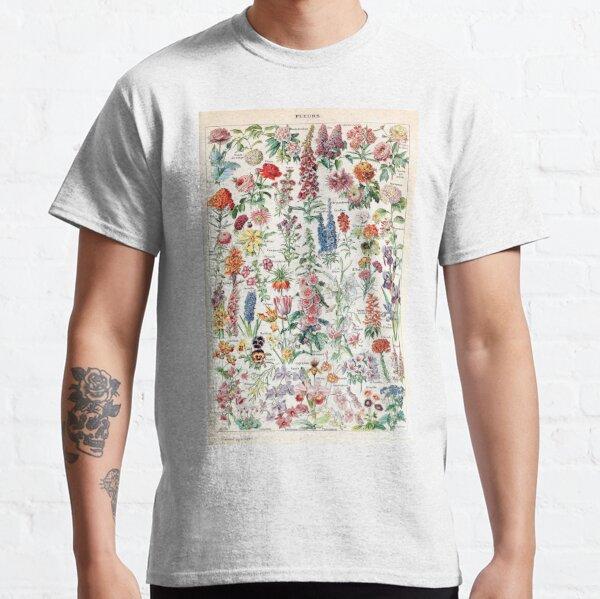 Adolphe Millot - Fleurs pour tous - French vintage poster Classic T-Shirt