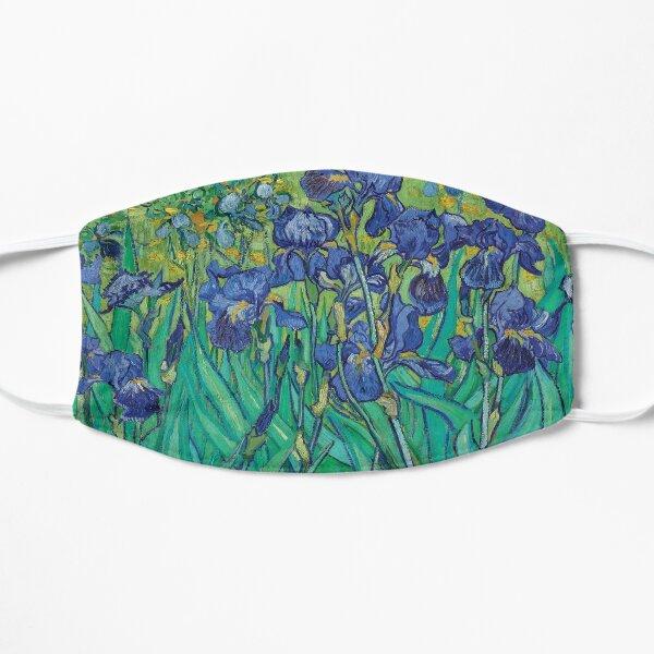 Iris de Vincent Van Gogh Mascarilla plana