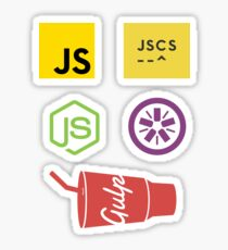 Javascript Tooling Sticker