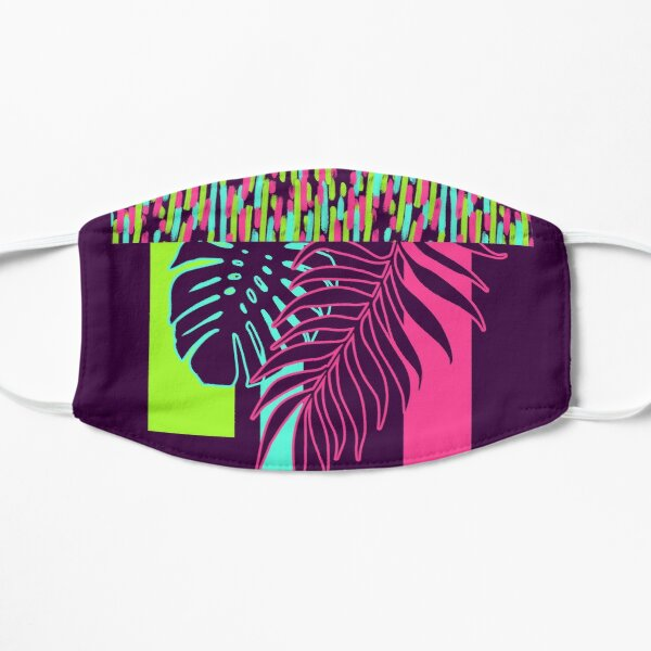 Neon Exotic #redbubble #tropical Mask