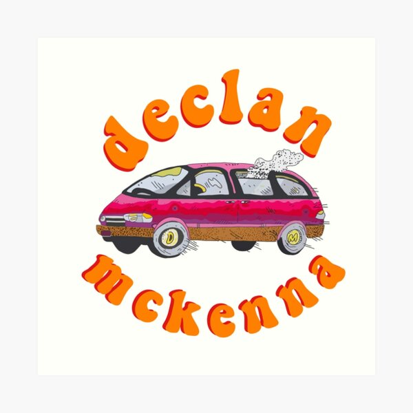 Declan Mckenna What Do You Think About The Car Art Print