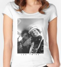 Les Twins 2 Women's Fitted Scoop T-Shirt
