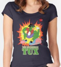I.T HERO - The Incredible Tux Women's Fitted Scoop T-Shirt