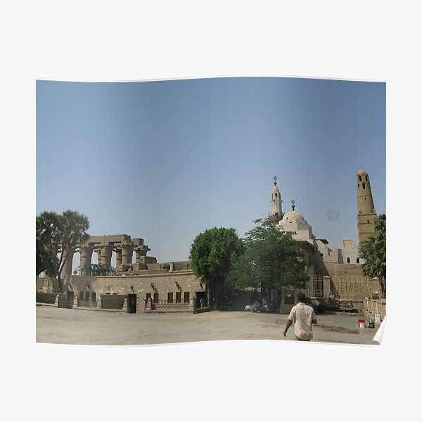 Temple of Luxor, no. 6 Poster