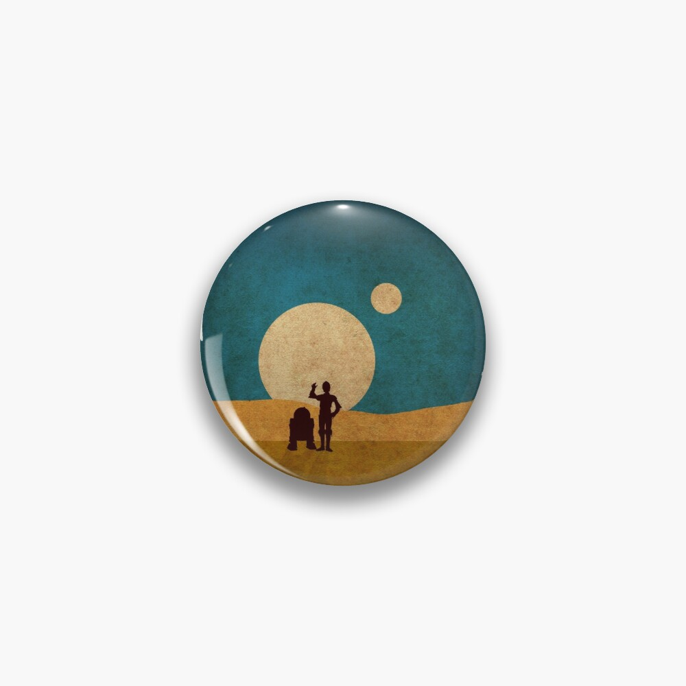 Droids In The Dunes Pin