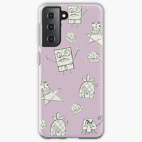 Doodle Bob Pattern Samsung Galaxy Soft Case