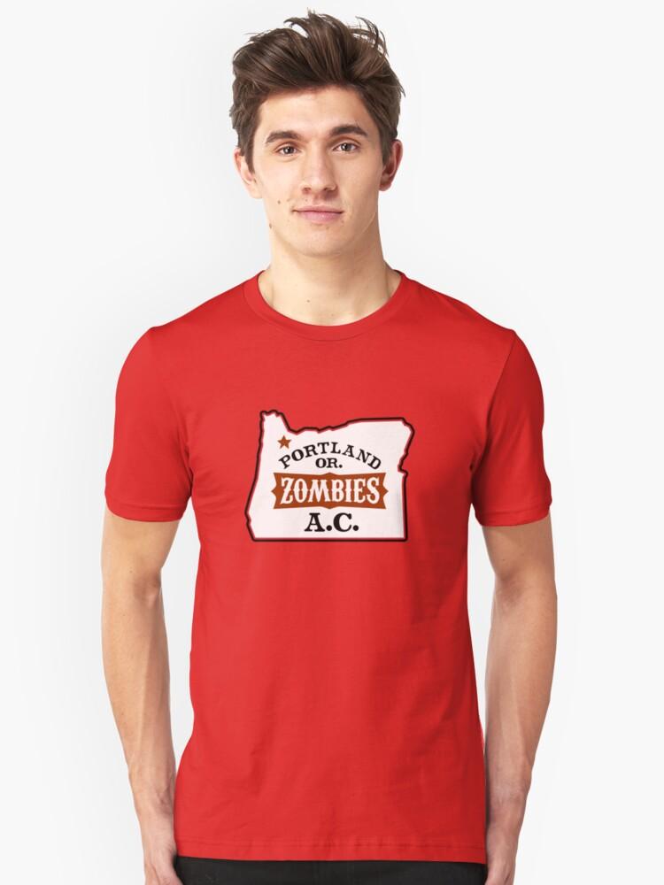 Portland Zombies AC Oregon Unisex T-Shirt Front