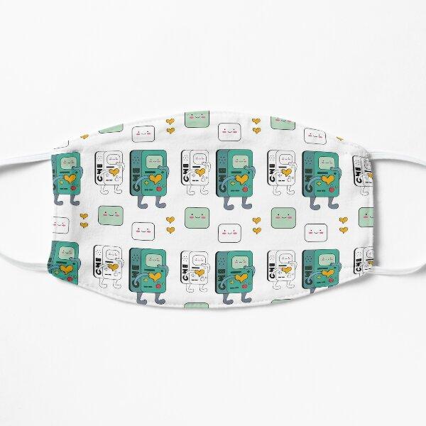 BMO Blush Heart Sticker Pack Flat Mask