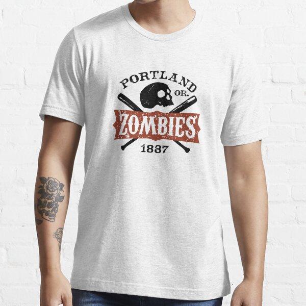 Portland Zombies Deadball Crest Essential T-Shirt