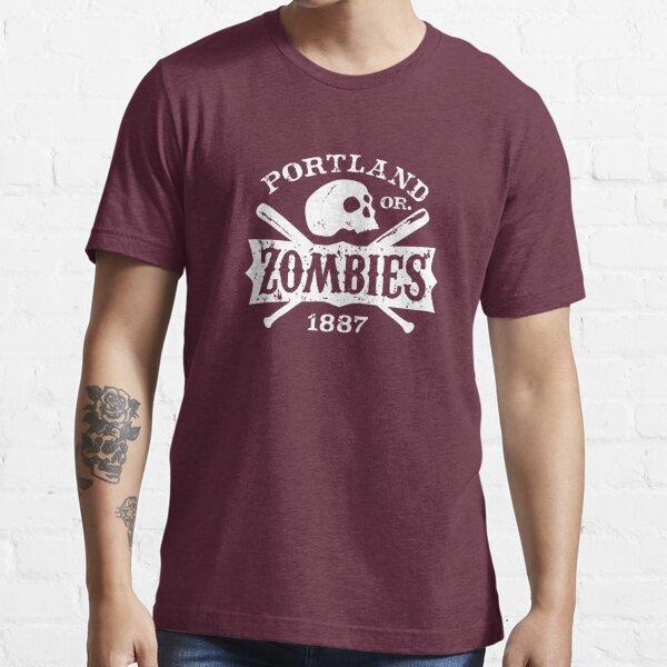 Portland Zombies Deadball Crest White Essential T-Shirt