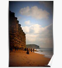 """ Jurrasic Coast "" Poster"