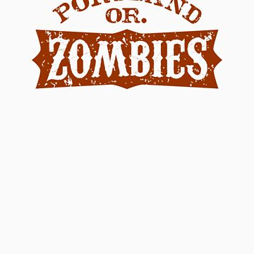 Portland Zombies Distressed Logo by RobDeBorde