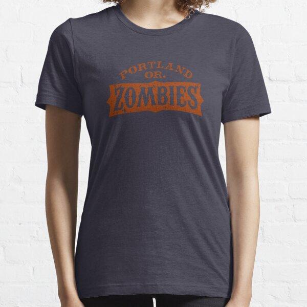 Portland Zombies Distressed Logo Essential T-Shirt