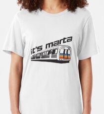 It's MARTA! Slim Fit T-Shirt