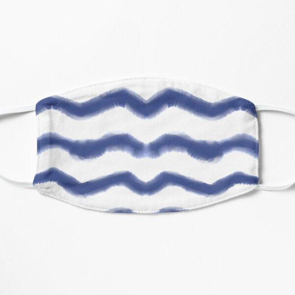 Shibori Waves #redbubble #shibori Mask