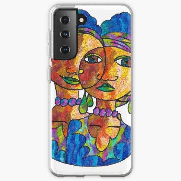 Twins and loving it Samsung Galaxy Soft Case