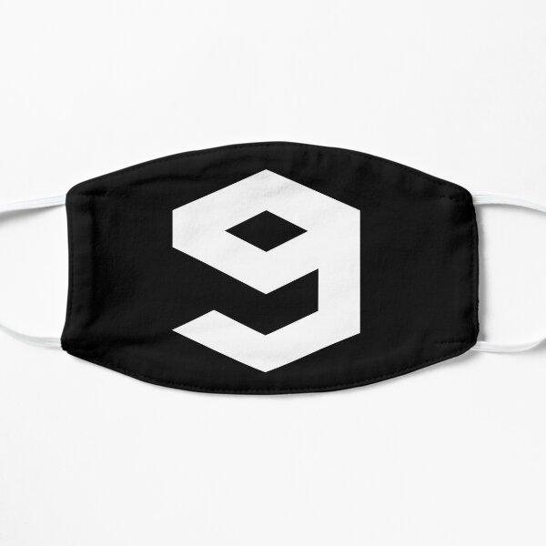 9gag Logo (White Version) Flat Mask