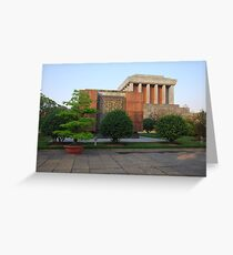 Side view of Ho Chi Minh's Mausoleum Greeting Card