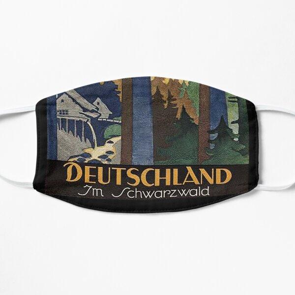 Black Forest vintage travel advertisement Mask