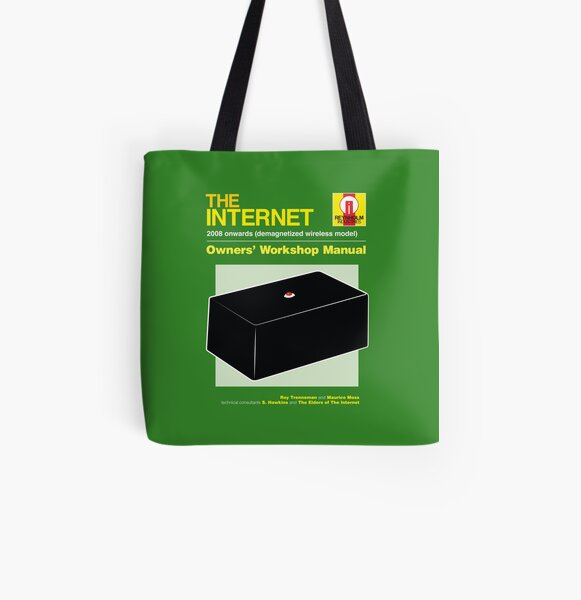 THE INTERNET All Over Print Tote Bag