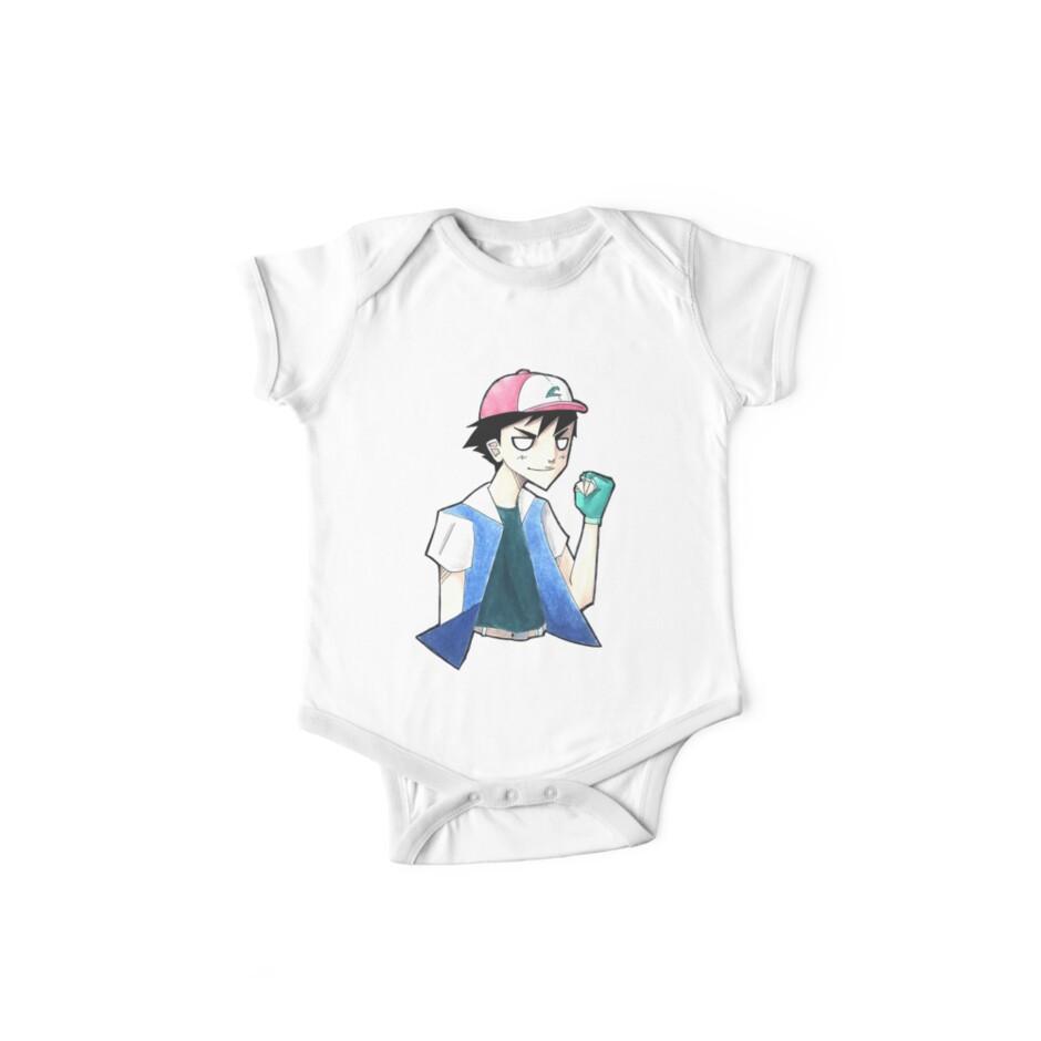 Pokemon: Ash Ketchum by Lydia Clites