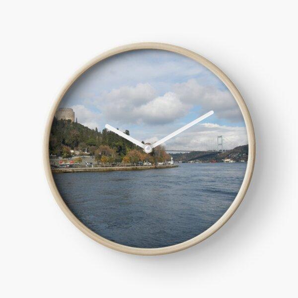 The Bosphorus, Istanbul, Turkey Clock