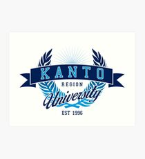 Kanto Region University Art Print