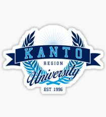 Kanto Region University Sticker