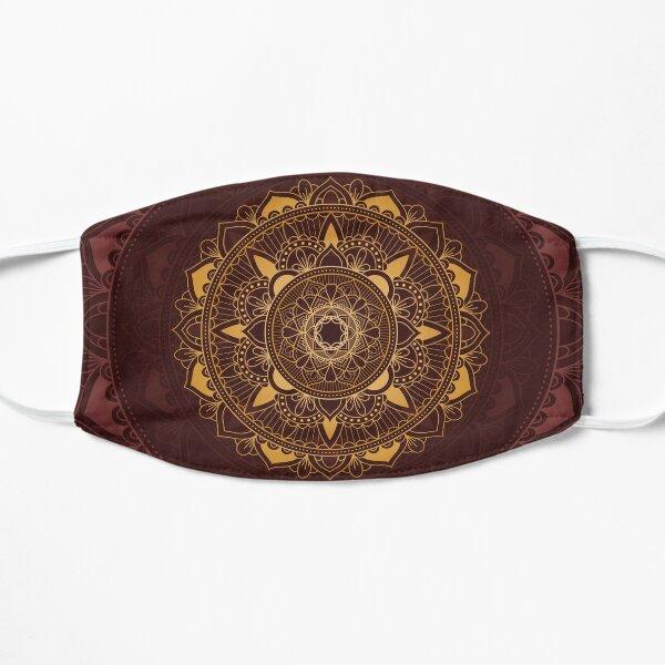 luxury mandala Flat Mask