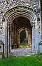 Porch at Thaxted Church by Nigel Bangert