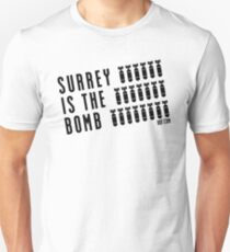 Surrey Is The Bomb dot com 2.0 Unisex T-Shirt