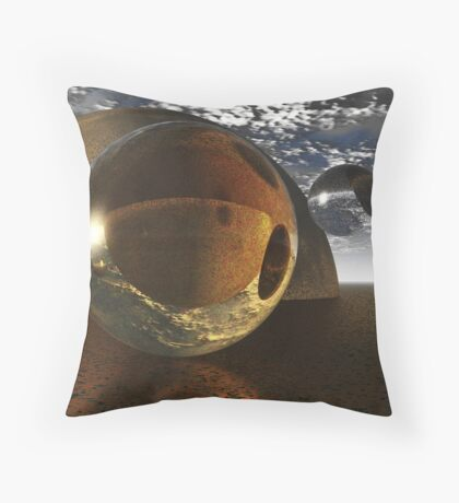 No Gravity Here Throw Pillow