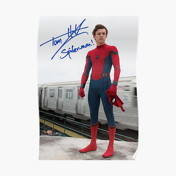 tom holland Poster