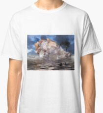 storm tree on shell Classic T-Shirt