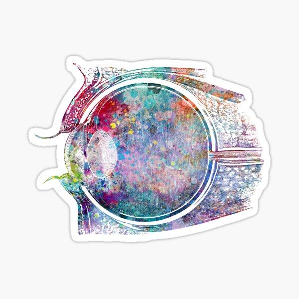 Sideview of Human Eye Sticker