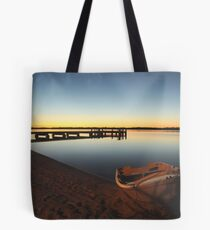 early morning at the  Pumicestone Passage Tote Bag