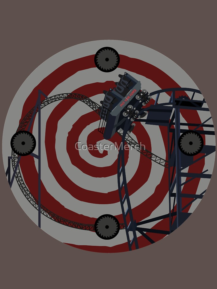 Sawblade - The Ride Art Design by CoasterMerch